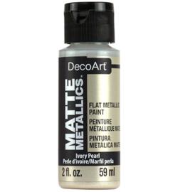 Matte Metallics Ivory Pearl