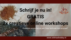 2  Creatieve online workshops
