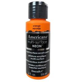 Multi-Surface Satin Neon Orange