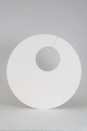 Cirkel met ronde uitsparing