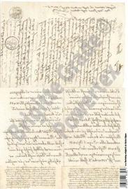 Laserprint A3 Old Handwriting