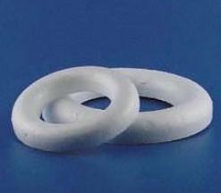 Piepschuim ring halfplat Ø15cm