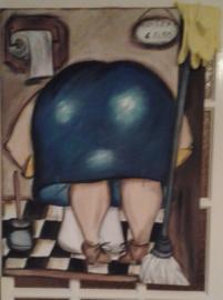 Toilet dame