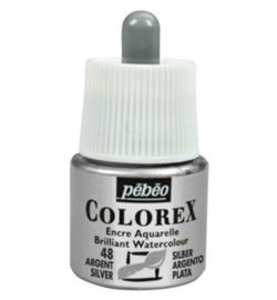 Pebeo Colorex  45 ml Silver