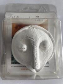 Half Afrikaans masker
