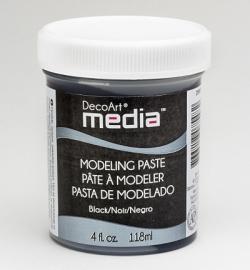 Modeling Paste Black 118 ml.