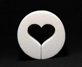 Cirkel hartje 17 cm