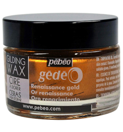 Gilding wax  Pebeo Renaissance gold 30 ml