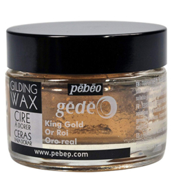 Gilding Wax  Pebeo King Gold 30 ml