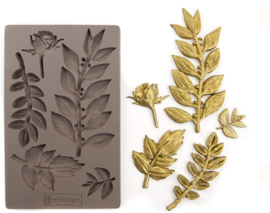 Leafy Blossom 5x8 Inch Mould