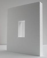 Styropor rechthoek 32,5x39,5 opening