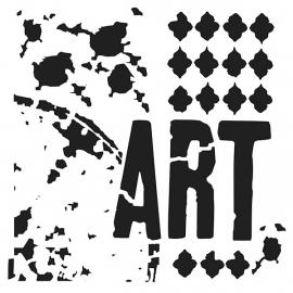 Viva la Art 15 x 15 cm