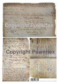 A3 Powerprint paper Grandma's phone book