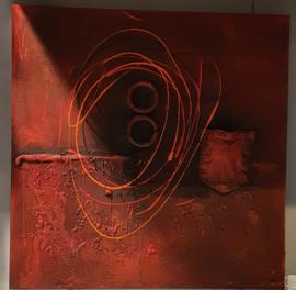 Red schilderij