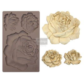 Etruscan Rose 5x8 Inch Mould