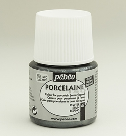 Porcelaine Metallics 47 Pewter 45 ml.