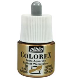 Pebeo Colorex 45ml – Pale Gold