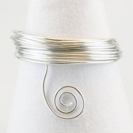 Aluminium wire 2mm 5m silver