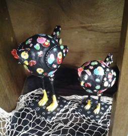 Gekleurde kippen