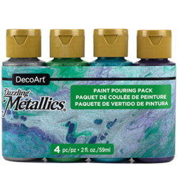 Dazzling Metallics Jewel Tone Pouring Kit