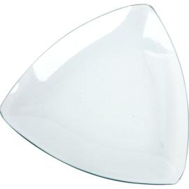 Glazen schaal, d: 19 cm