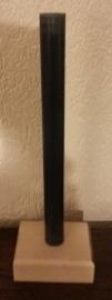 Houten blok met pvc pijp 40 cm