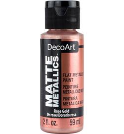 Matte Metallics Rose Gold