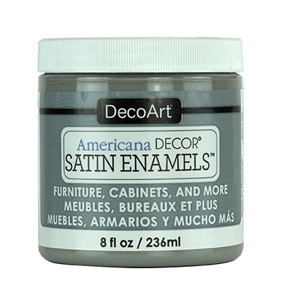 Enamels Satin Smoke Grey 236 ml.