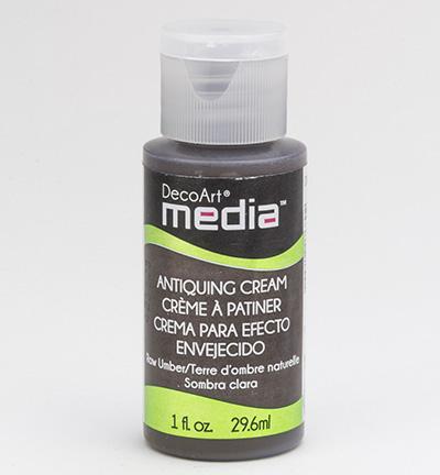 Raw Umber Mixed Media Antiquing Cream