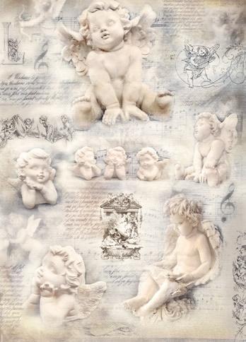 Silkpaper Angels