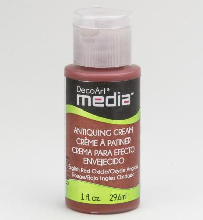 Red Oxide Mixed Media Antiquing Cream