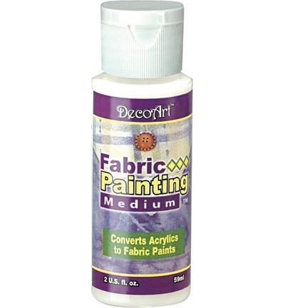 Fabric painting medium