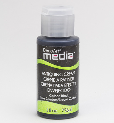 Carbon Black Mixed Media Antiquing Cream