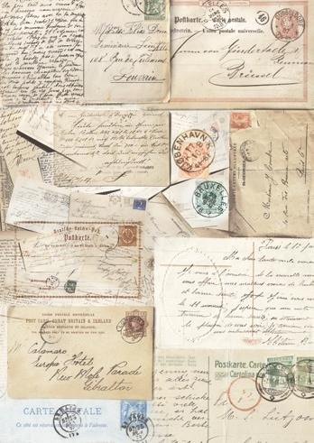 Silkpaper Postcard