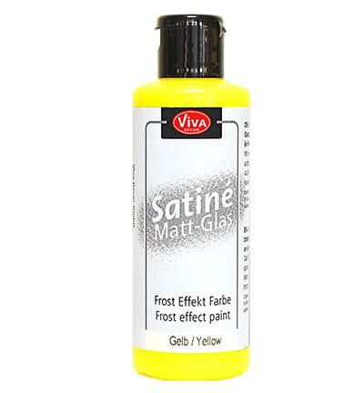 Yellow Satine Matt Glass