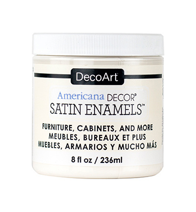 Enamels Satin Warm White 236 ml.