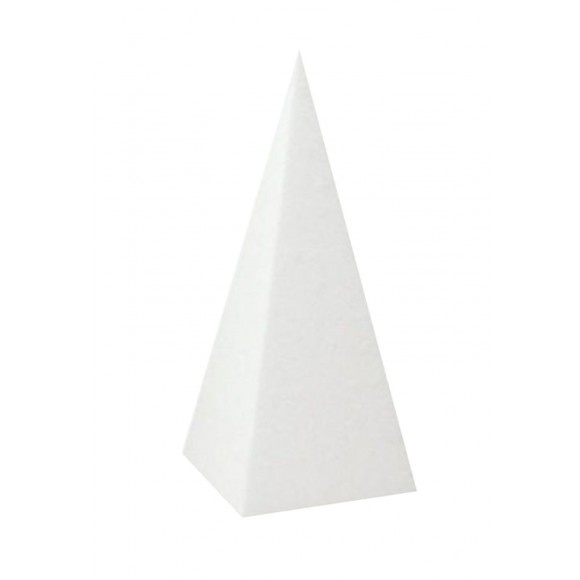Styropor Piramide hoog 40 cm