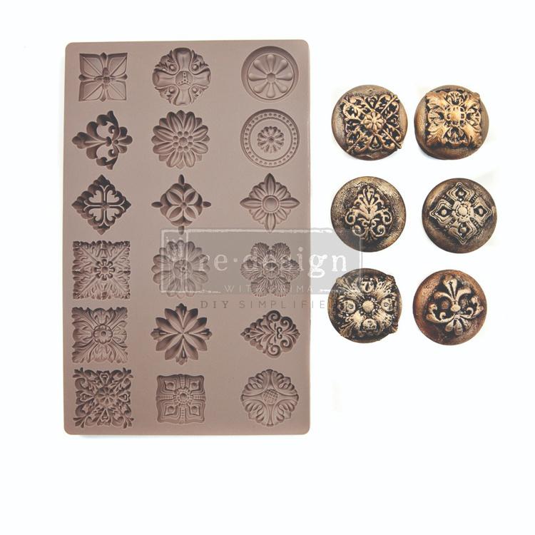 Curio Trinkets 5x8 inch Mould