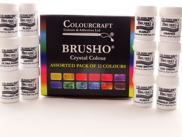 brusho assortiment