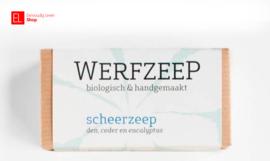 Zeep - Werfzeep - Scheerzeep - 100 gram