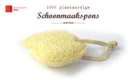 Spons - 100% plantaardige schoonmaakspons