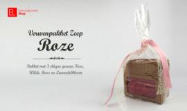 Geurpakket ¨Zeep - Roze¨