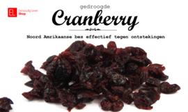 Cranberries, gedroogd, 300 gram