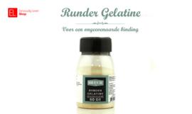 Runder Gelatine - 60 gram
