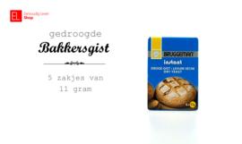 Gist - Bruggeman - Doosje 5 x 11 gram