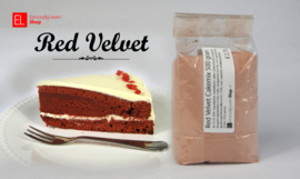 Red Velvet cakemix, 500 gram