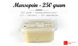 Marsepein -1:3 - naturel -  bakkerskwaliteit - 250 gram