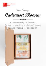 Zeep - Werfzeep - Cadeauset Bloesem