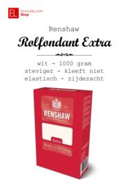 Rolfondant - Renshaw - 1 kilo - WIT - vegan