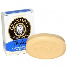 Grandpa's Thylox zeep met zwavel 92 gam
